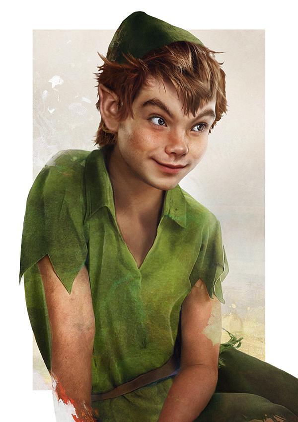 Real life disney characters by jirka vinse jonatan - Image de peter pan ...